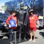 LLUMC Community Health Fair with Batman
