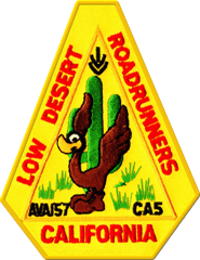 Low Desert Roadrunners Walking Club logo