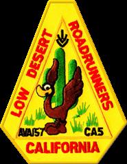 Low Desert Roadrunners Walking Club logo
