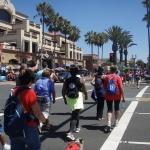 Volkswalking Main St in Huntington Beach