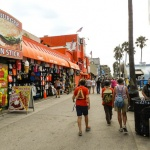 Volkswalking at Venice Beach Boardwalk