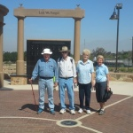 Volkswalking in Norco Veterans Memorial