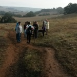 Volkswalking on the Trail at Santa Rosa Plateau